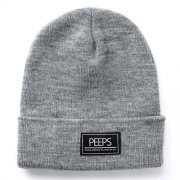 핍스[PEEPS]basic label beanie(gray)