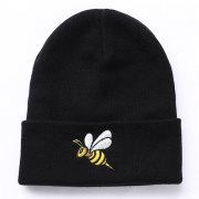 핍스[PEEPS]honeybee beanie(black)