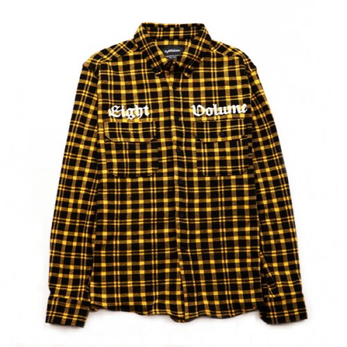 [에잇볼륨]EV Cotton Check Shirts