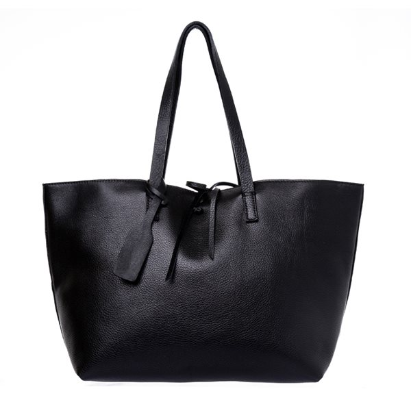 [델피엘] bucket tote *black*
