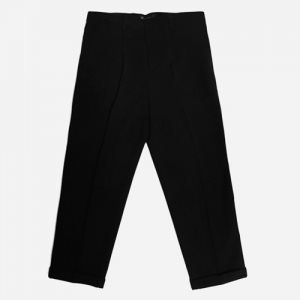 15FW LOOSE FIT SLACKS BLACK