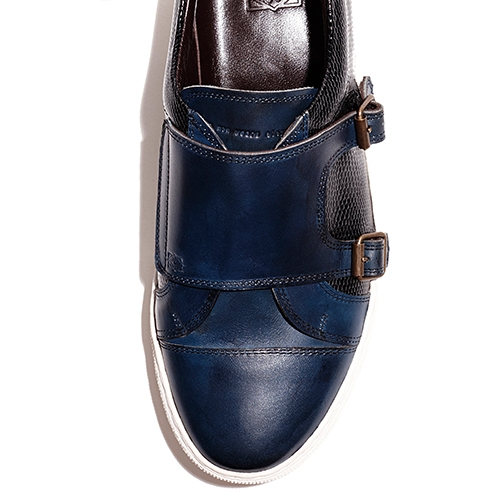 [암위] [AM.WE] NAVY MONK SNEAKERS