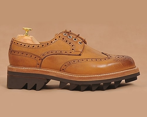 Manhattan shark snow 5.2 wingtip clipper shoes