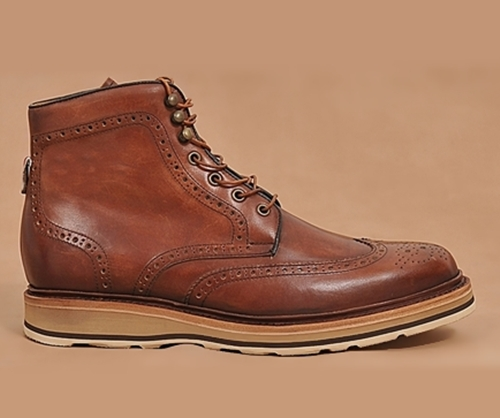 central park minimal wingtip sport boots