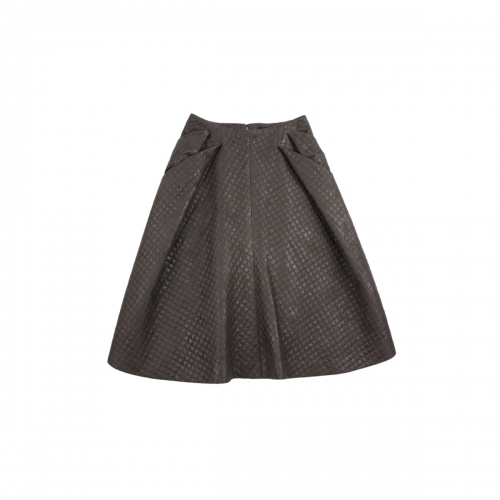 [BEONGLEE] FLARED SKIRT_BLF15-5007