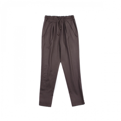 [BEONGLEE] NAVY PANTS_BLF15-6001(BROWN)