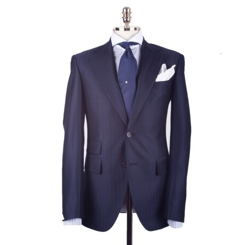 [루바나] [Rubana] Navy Herringbone Suit