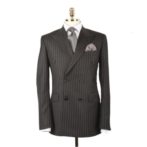 [루바나] [Rubana] Charcoal Grey Stripe Suit