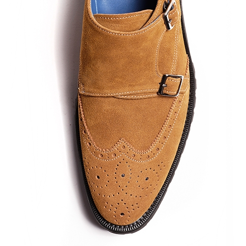 [암위] [AM.WE] LAST-3 WINGTIP DB MONK COMBAT BROWN