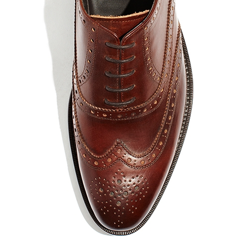 [암위] [AM.WE] LAST-3 BALMORAL WINGTIP BRITISH BROWN