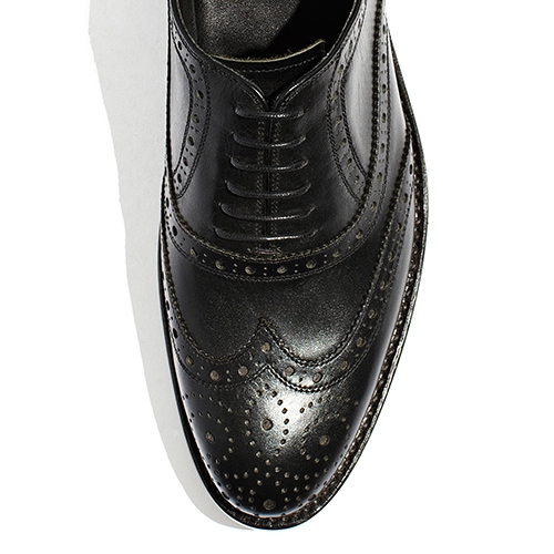 [암위] [AM.WE] LAST-3 BALMORAL WINGTIP BLACK