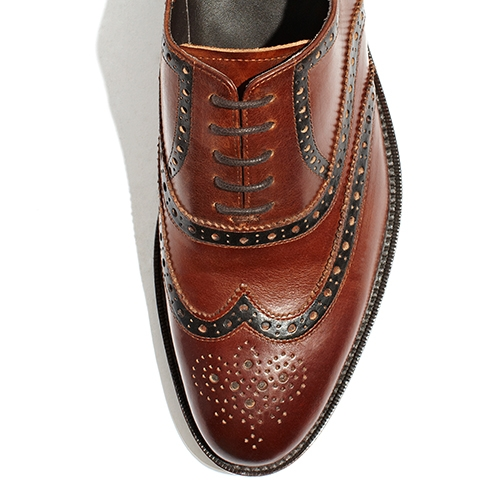 [암위] [AM.WE] LAST-3 BALMORAL WINGTIP LINING BROWN