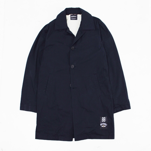 [에잇볼륨]EV Mac Trench Coat (Navy)
