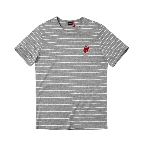 [브라바도] THE ROLLING STONES VINTAGE TONGUE STRIPE GY