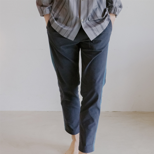 [블레어바이스퀘어] [blair by square] Color Block Slacks (2 Color)