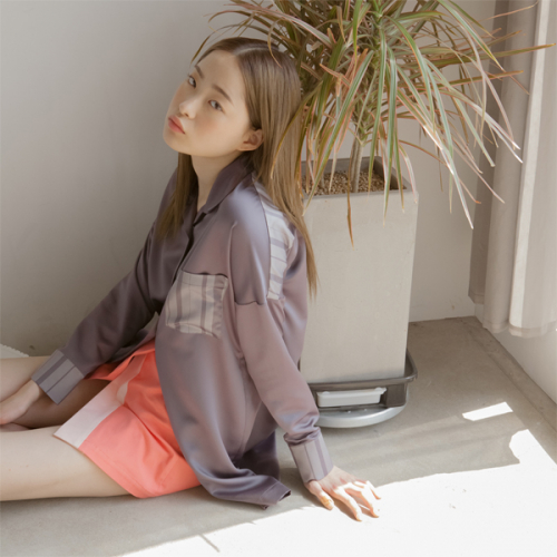 [블레어바이스퀘어] [blair by square] Wrap Skirt (Coral)