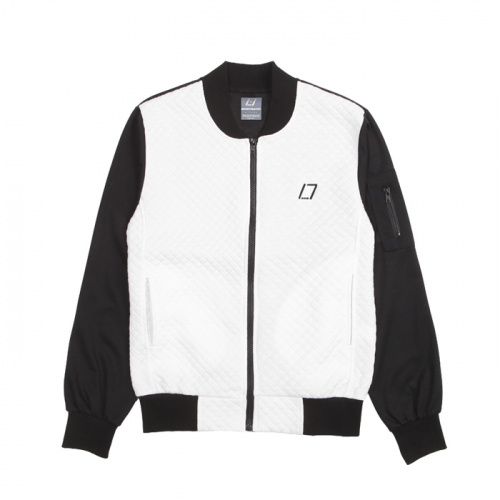 [SEVENTEENTH] DIAMOND BLOUSON JACKET - WHITE