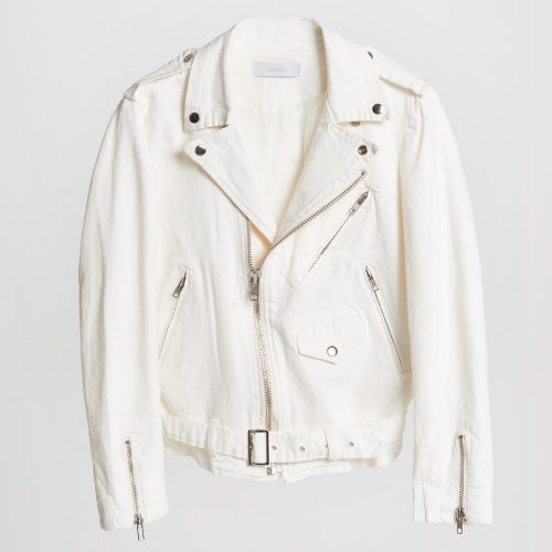 [드레브] De reve Softy Rider Jacket Ivory