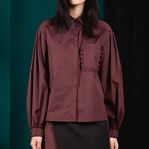 아라크네 ARACHNE Balloon long sleeves shirt