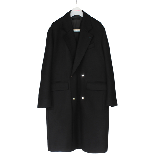 [칼이석태] [HAPBUQUE] 16 F/W DOUBLE WOOL COAT (BLACK)