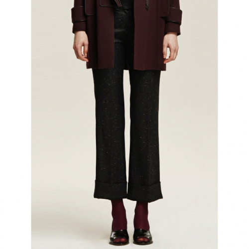 까이에 Cuffed Wool Pants