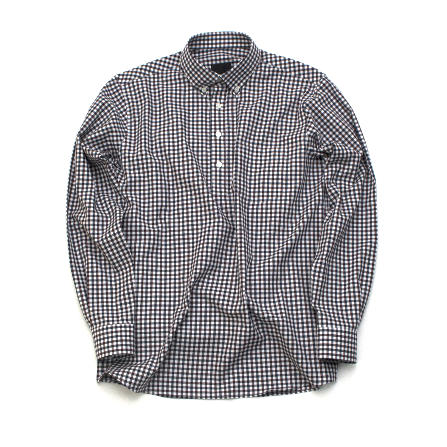 [디미트리블랙] 17SS GINGHAM CHECK FULLOVER SHIRTS