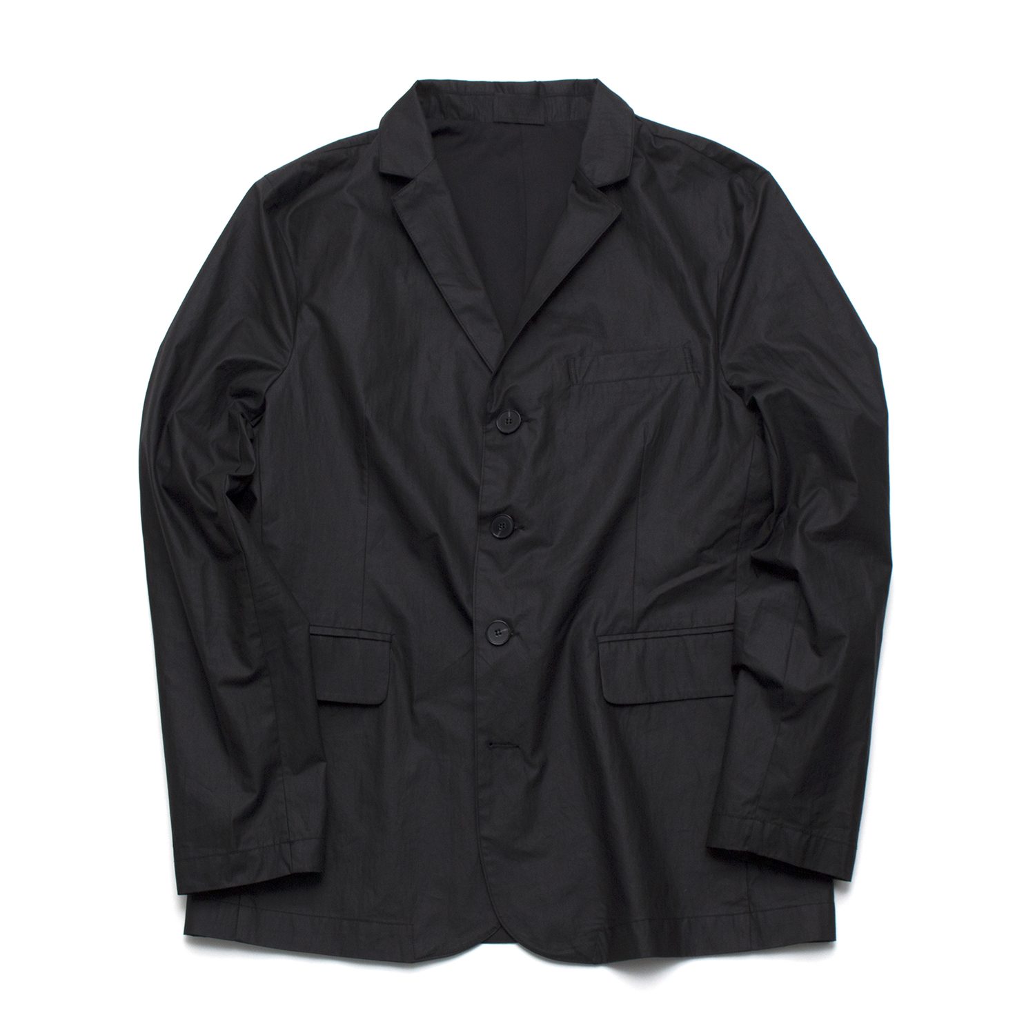 [디미트리블랙] 17SS 4BUTTON COTTON COTED JACKET BLACK
