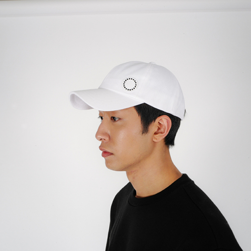 [로우투로우] [raw to raw] side wappen ballcap(white)