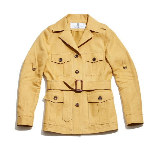 [암위] [AM.WE] Yellow Linen SAFARI Women