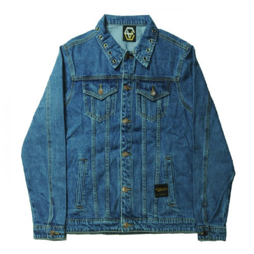 EV Stud Jean Jacket(blue)