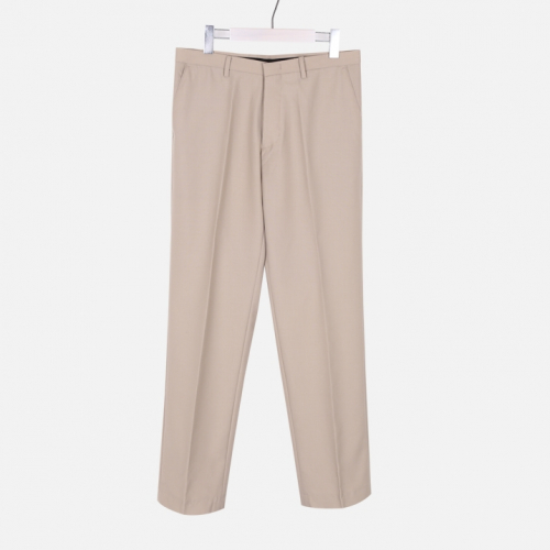 [모노소윙] Solid Wide Trouser (Light Beige)