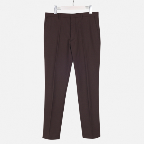 [모노소윙] Solid Trouser  (Brown)