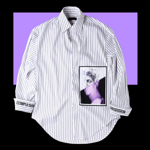 [테뉴] DAVID CUFFS SHIRTS-WHITE