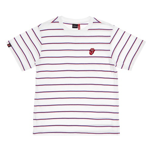 [브라바도] [Bravado]RS C/TONGUE STRIPE 1/2 BORDER TEE WRB