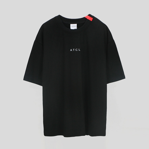 [애티클][ATICLE] Ribbon point T-shirt_BK