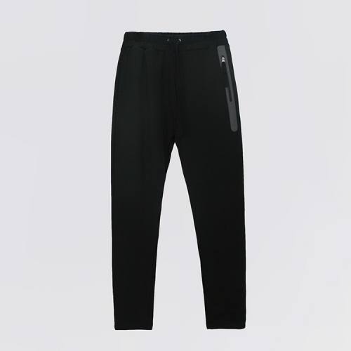 [애티클][ATICLE] Welding Zip Baggy Fit Sweatpants_BK