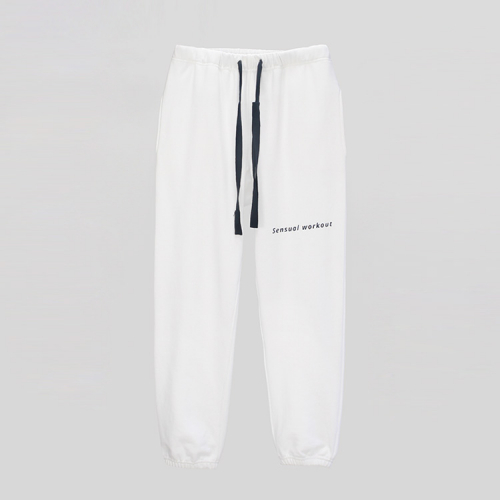 [애티클][ATICLE] Ribbon Tape Point Basic Sweatpants_WT