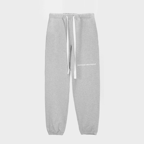[애티클][ATICLE] Ribbon Tape Point Basic Sweatpants_MG