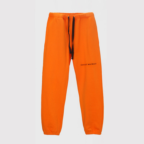 [애티클][ATICLE] Ribbon Tape Point Basic Sweatpants_OR