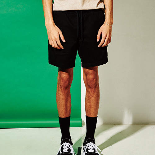 [엑스마이너스] BASIC SHORTS BLACK