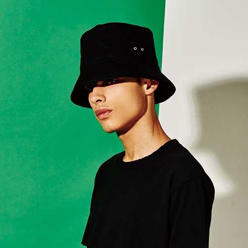 [엑스마이너스] BASIC BUCKETHAT BLACK