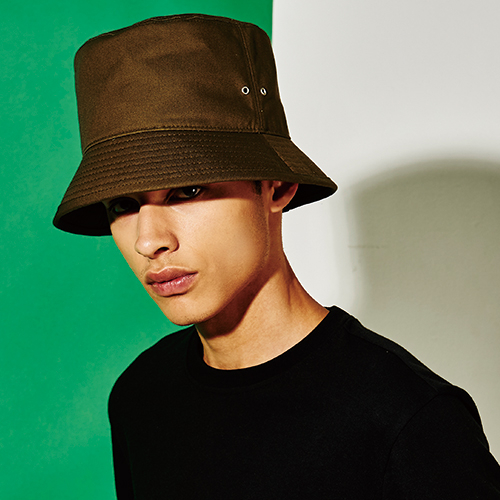 [엑스마이너스] BASIC BUCKETHAT KHAKI