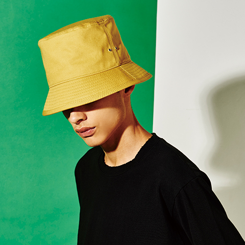 [엑스마이너스] BASIC BUCKETHAT MUSTARD