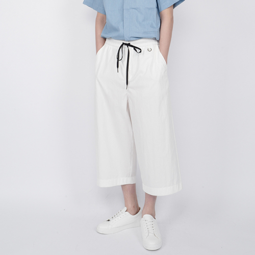 [로우투로우] [raw to raw] washed cotton healing pants(white)