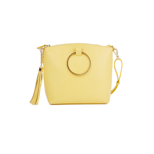 [HA.TISS] CONEY YELLOW CROSS BAG