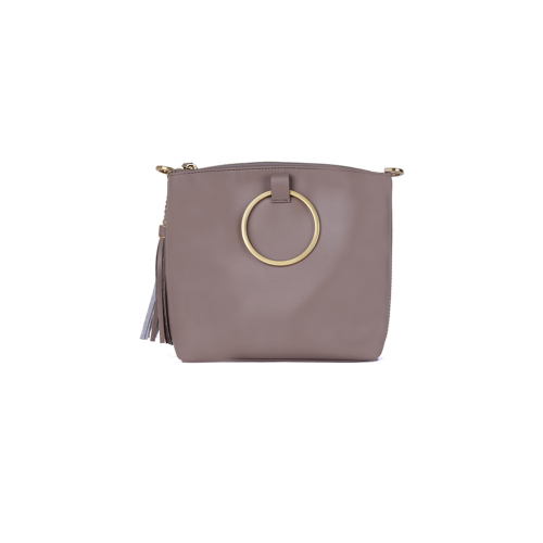[HA.TISS] CONEY BEIGE CROSS BAG