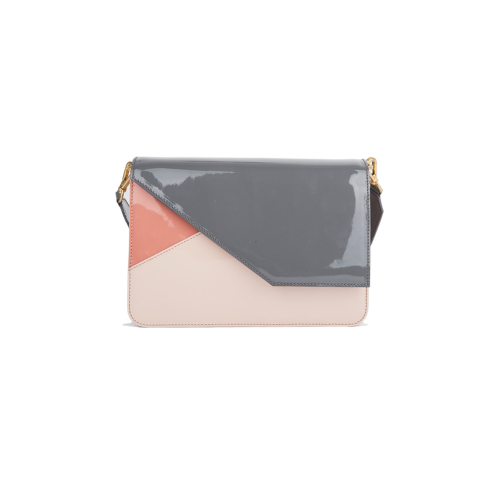 [HA.TISS] MARGARET PINK CLUCH BAG