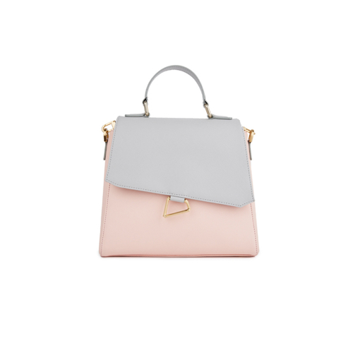 [HA.TISS] MEMORIAL GRAY PINK TOTE BAG