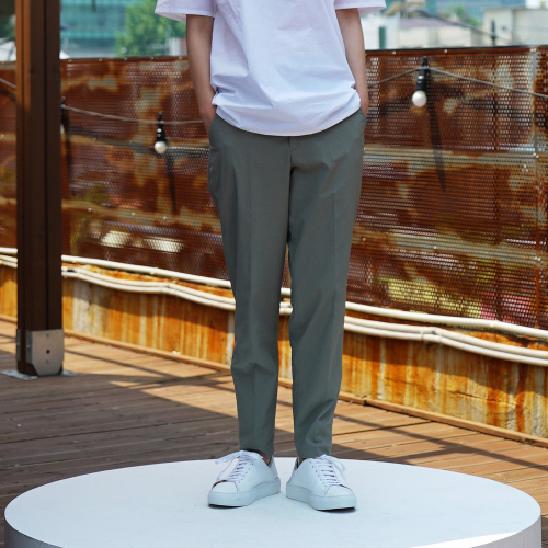 [유주얼에딧] Neutral Trousers(Khaki)