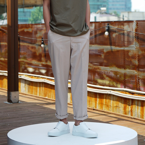 [유주얼에딧] Neutral Trousers(Beige)